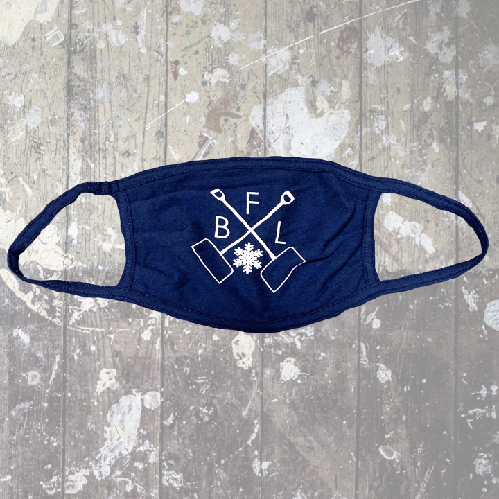 BFLO Shovel Navy Mask-$6.50
