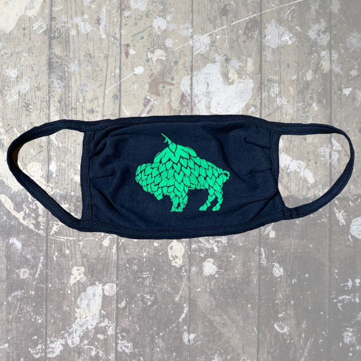 Hop Buffalo Navy Mask-$6.50